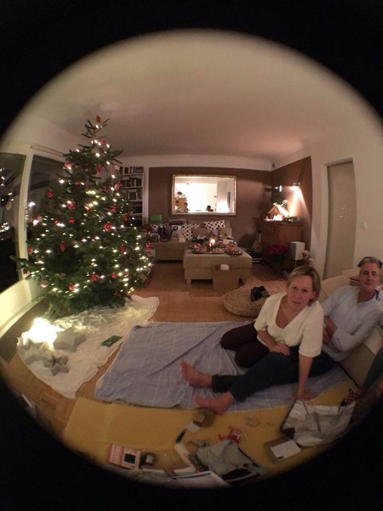 Heilig Abend bei meinen Eltern