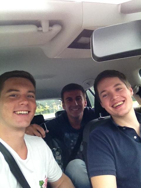 Auf dem Weg nach München